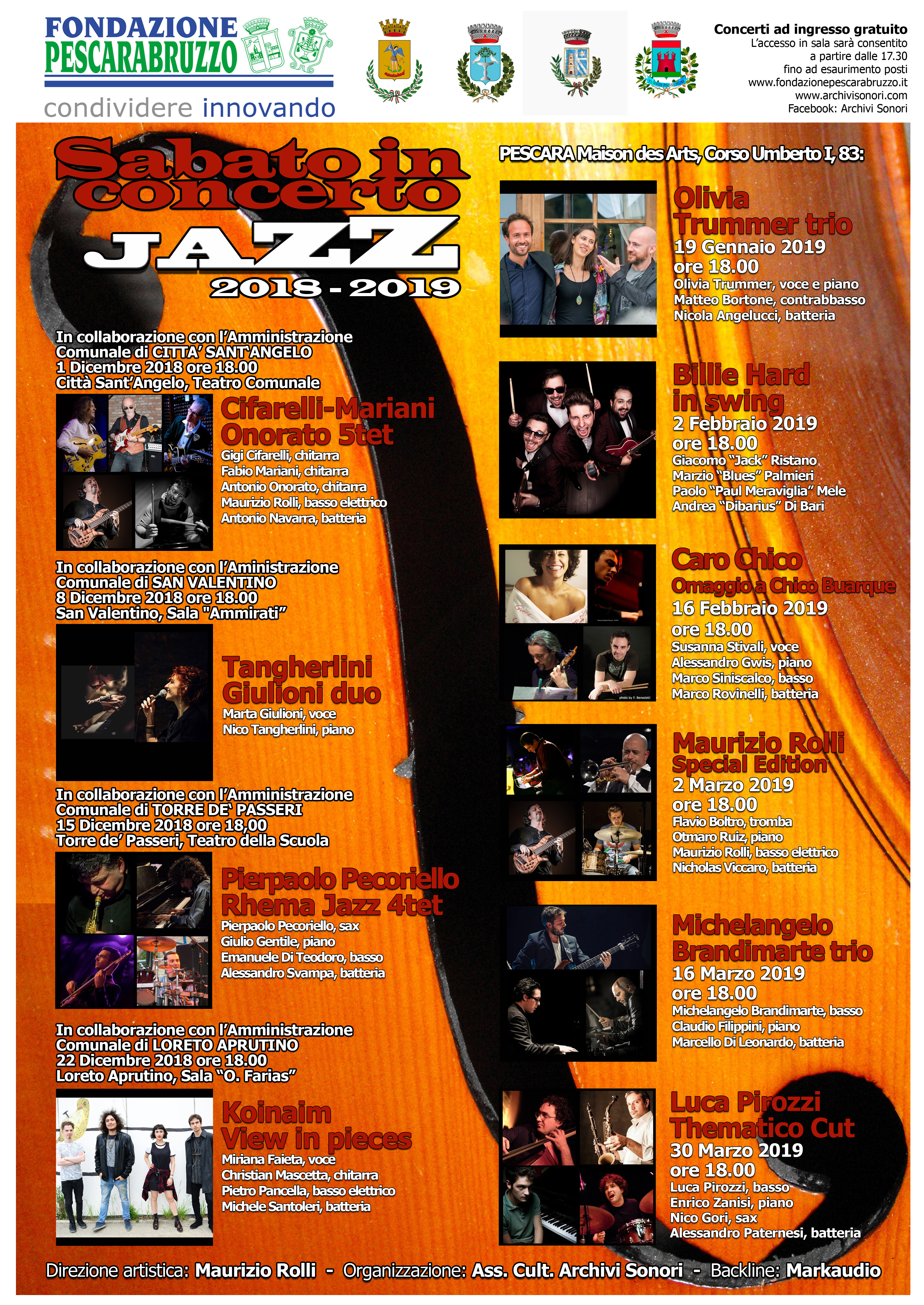SABATO IN CONCERTO JAZZ